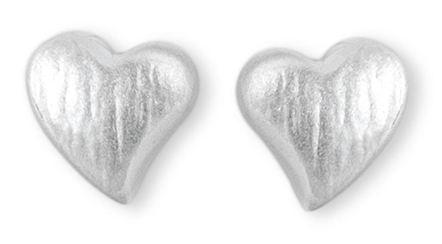 Kashka London Childrens Hope in My Heart Silver Earrings
