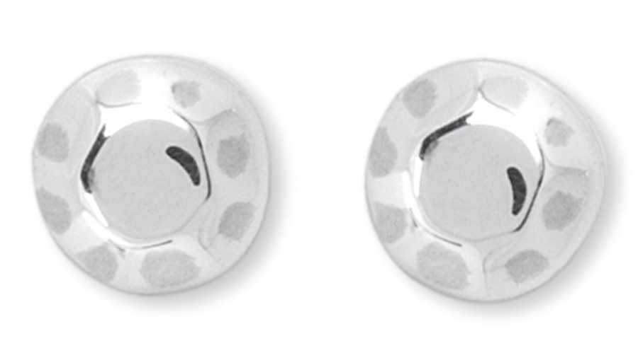 Kashka London Childrens Shapes Silver Earrings
