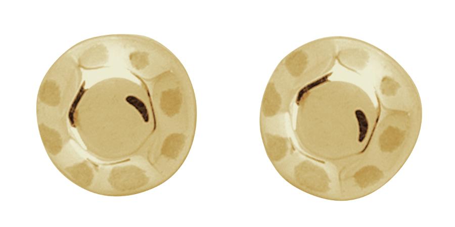 Kashka London Childrens Shapes Gold Earrings