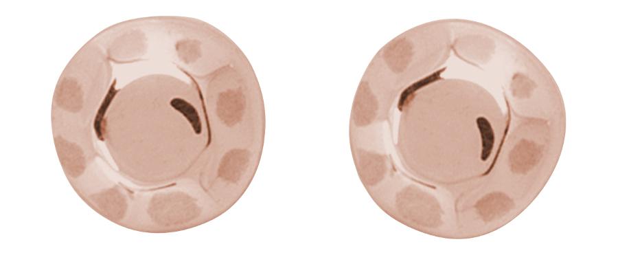 Kashka London Childrens Shapes Rose Gold Earrings