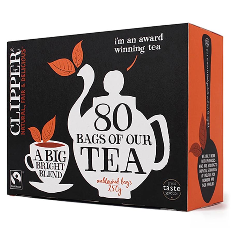 Clipper Fairtrade Tea - 80 Bags