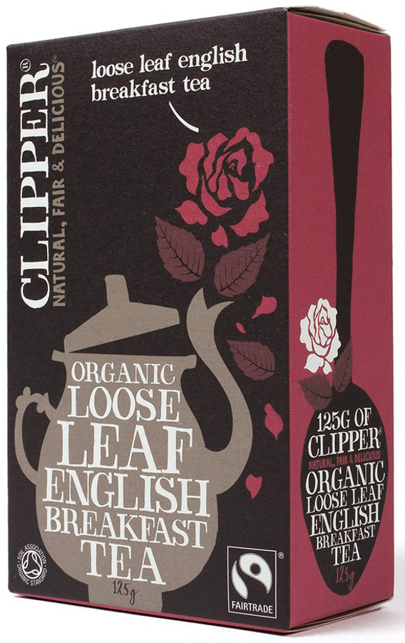Clipper Fairtrade English Breakfast Tea Loose Leaf 125g