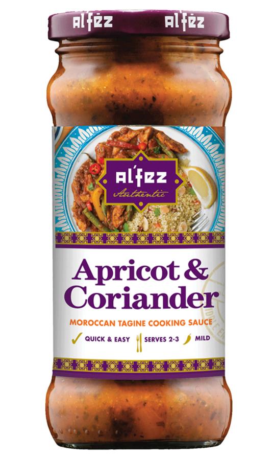 Alfez Apricot & Coriander Tagine Sauce - 350g