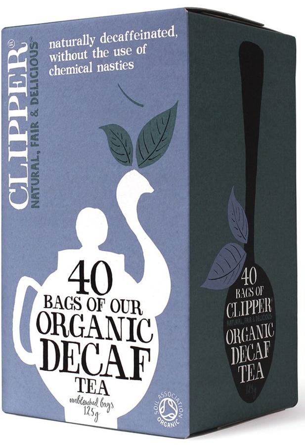Clipper Organic Decaffeinated Teabags - 40 Bags