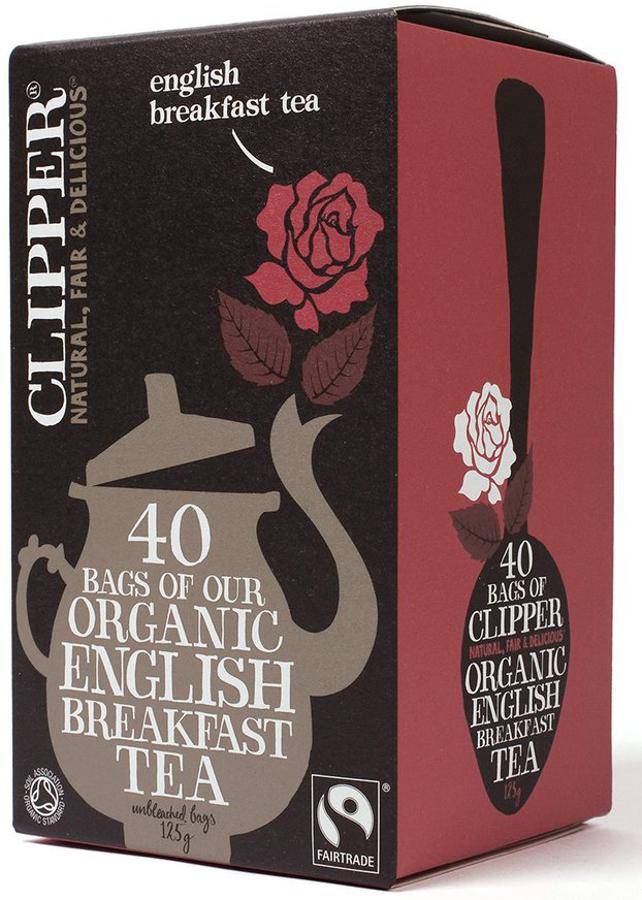 Clipper Organic English Breakfast Tea - 40 Bags