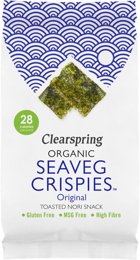 Clearspring Seaveg Crispies - Original - 5g