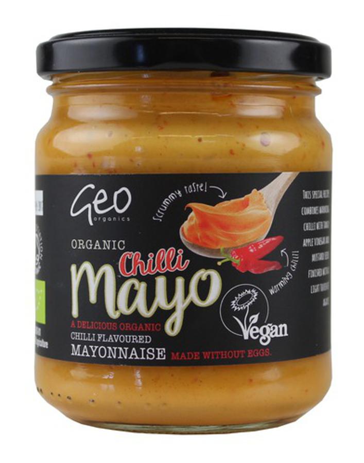 Geo Organics Vegan Organic Chilli Mayo - 232g
