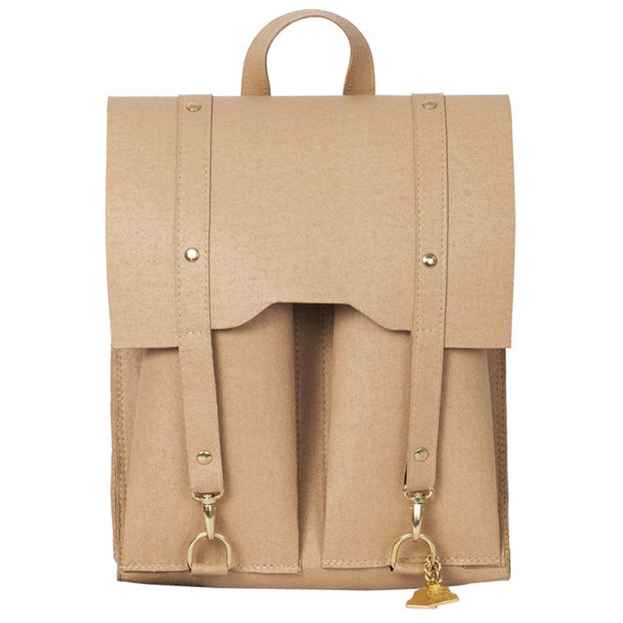 Wilby Bailey Beige Backpack
