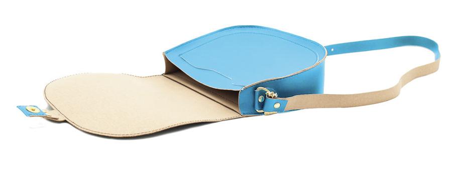Wilby Bailey Blue Saddle Bag