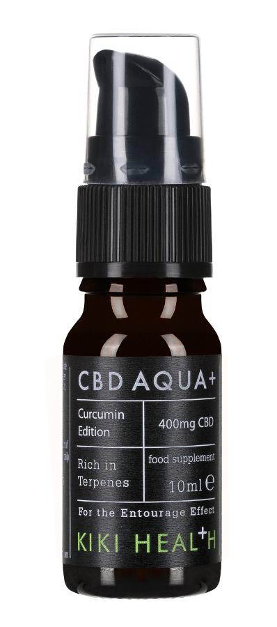 Kiki Health CBD Aqua+ Curcumin Edition - 10ml