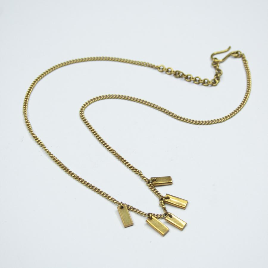Made Brass Inca Necklace