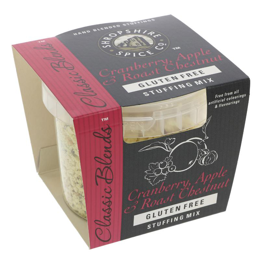 Shropshire Spice Gluten Free Cranberry & Apple Stuffing - 120g