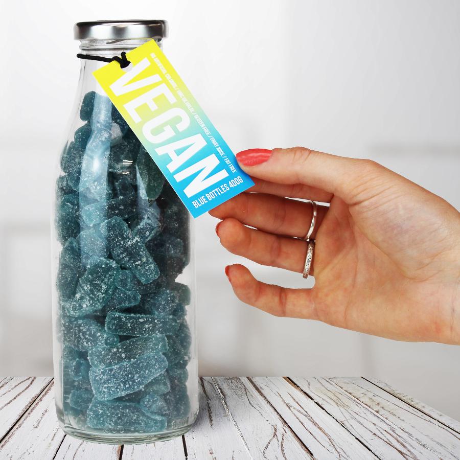 The Treat Kitchen Vegan Blue Bottles - 400g