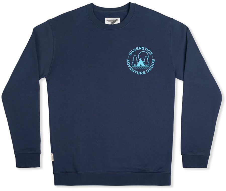 Silverstick Arugam Adventure Goods Organic Cotton Sweater - Navy