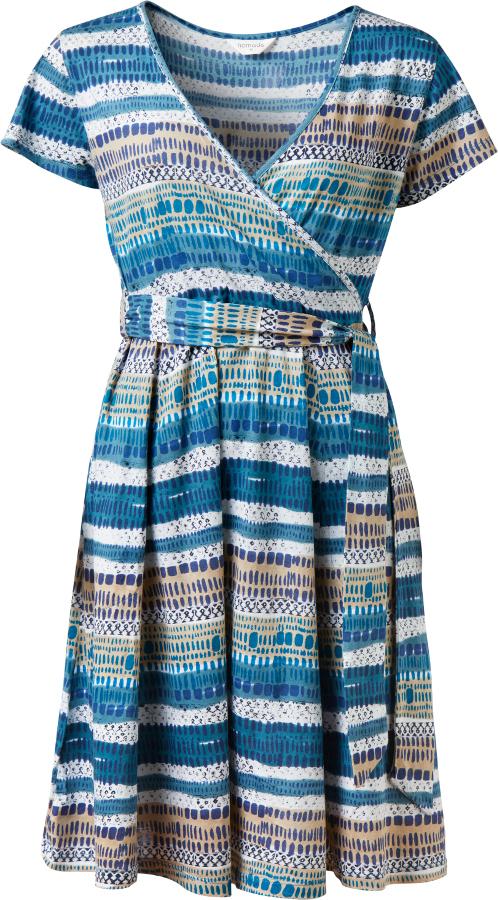 Nomads Aegean Cross Front Dress