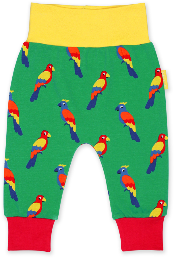 Toby Tiger Parrot Printed Yogas
