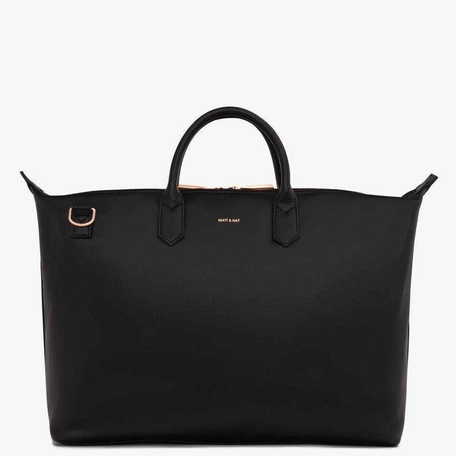 Matt & Nat Vegan Abbi Large Handbag - Black