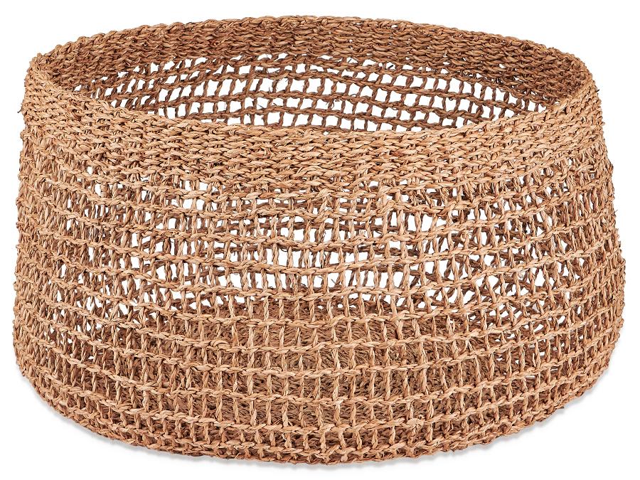 Mendi Natural Seagrass Basket - Large