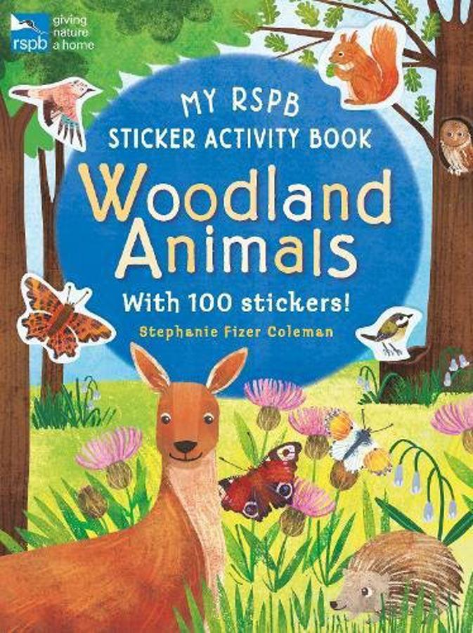 My RSPB Sticker Activity Book: Woodland Animals