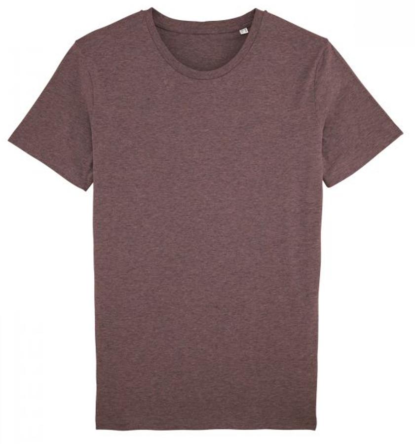 Men's Organic Cotton Round Neck Heather T-Shirt