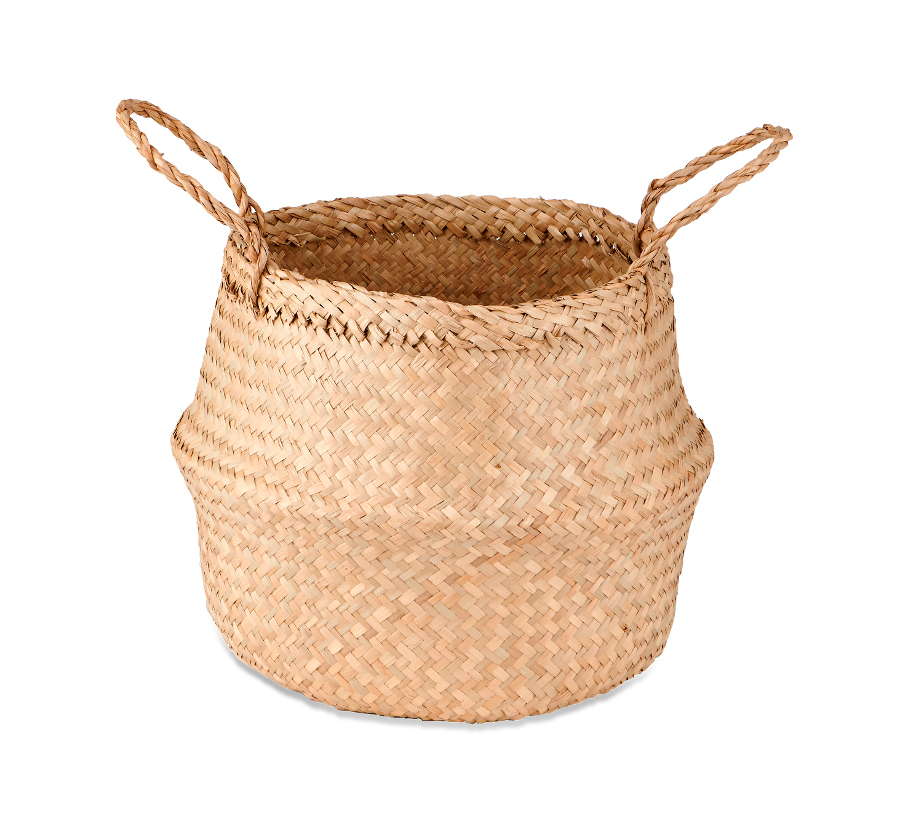 Natural Ekuri Basket - Small