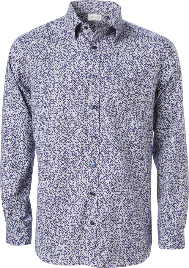 Nomads Crackle Long Sleeve Shirt