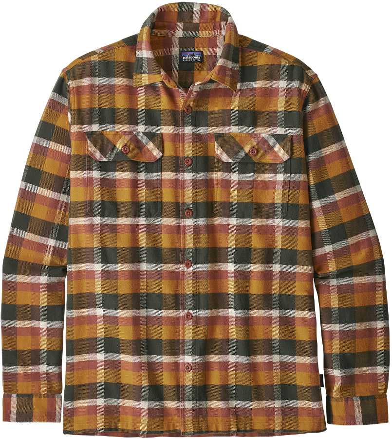 Patagonia Men's Observer Fjord Flannel Shirt - Wren Gold