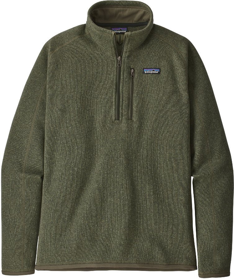 Patagonia Men's Better Sweater 1/4 Zip Jacket - Industrial Green