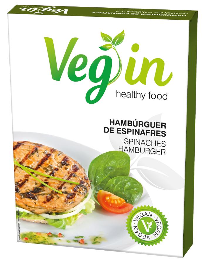 Veg In Vegan Spinach Burger - 80g