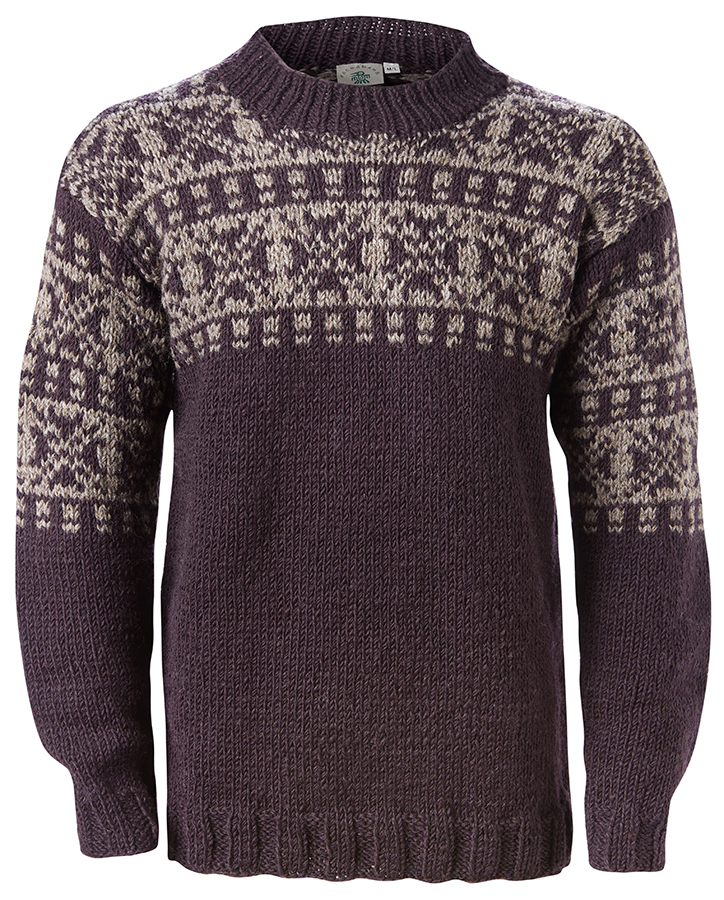 Men's New England Sweater - Charcoal