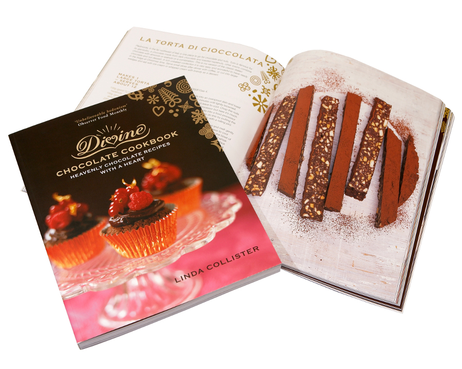 Image of Divine Heavenly Chocolate Recipe Book
