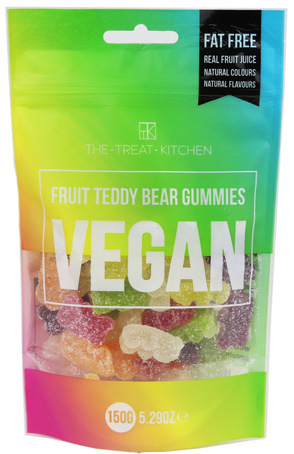 The Treat Kitchen Vegan Fruit Bears Pouch - 150g
