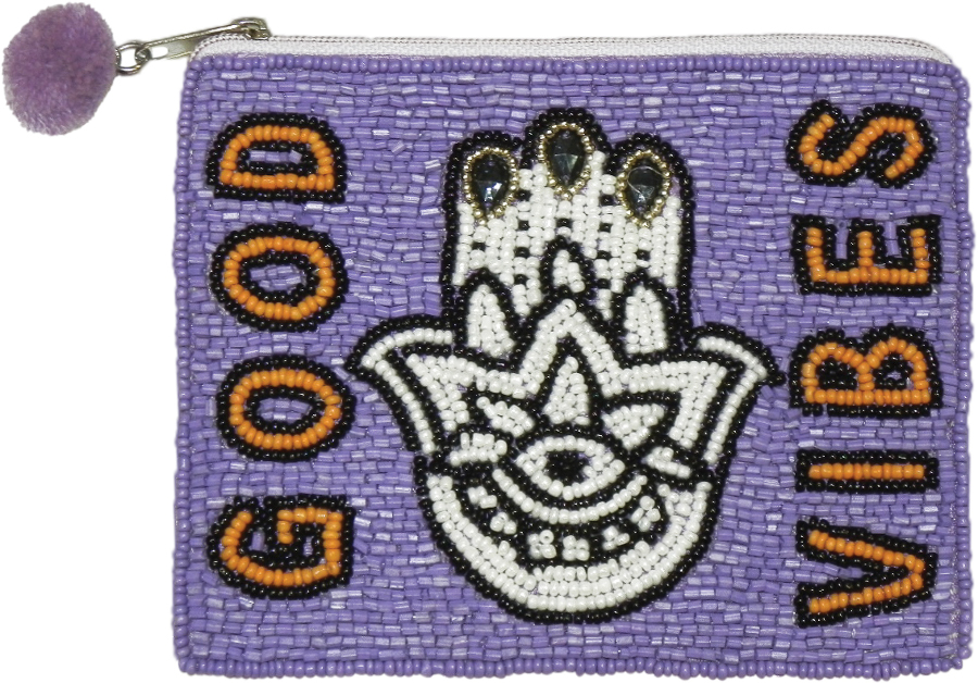 Beaded Good Vibes Purse