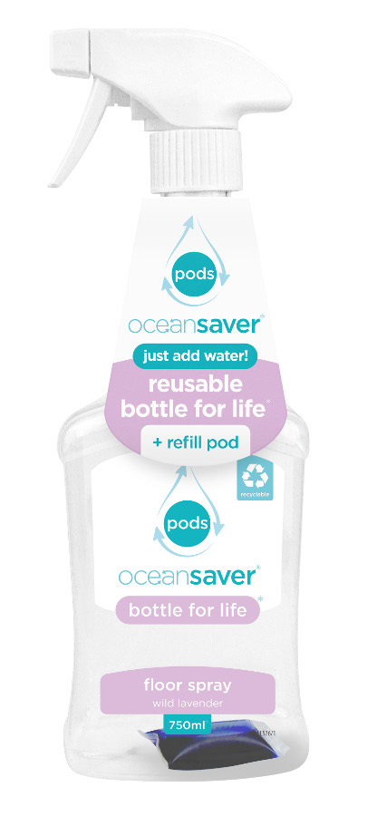Ocean Saver Bottle for Life Floor Cleaner Starter Pack