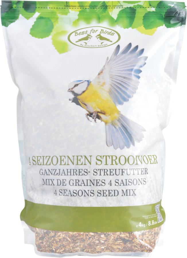 Four Seasons Feed Mix - 4kg