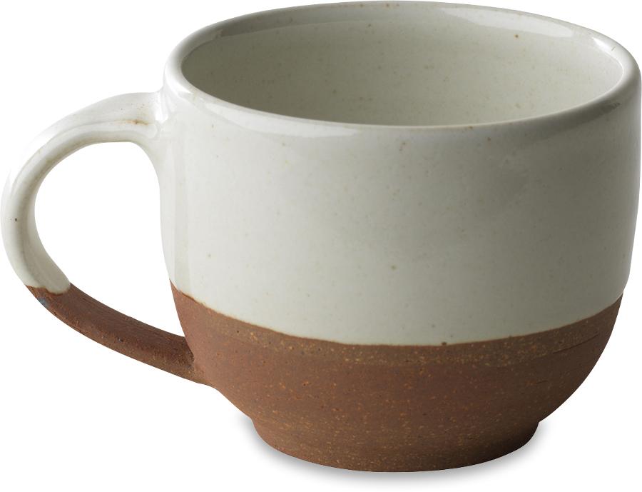 Mali White & Terracotta Coffee Mug