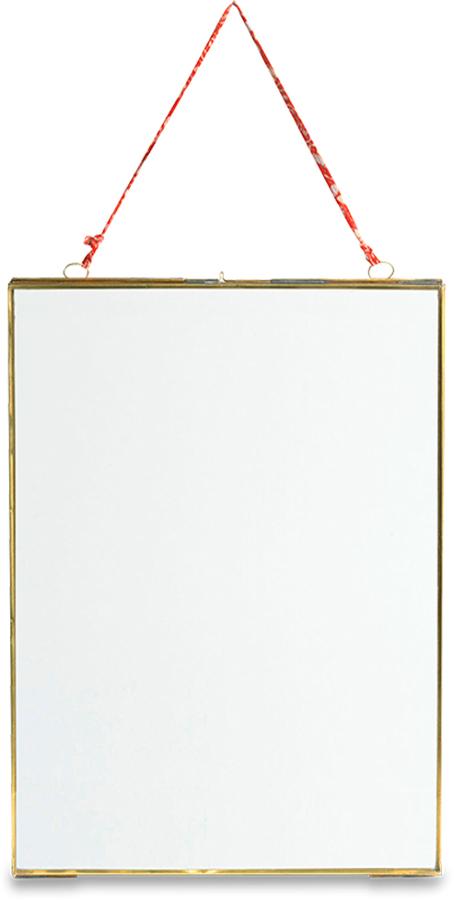 Kiko Brass Extra Large Hanging Frame - Potrait