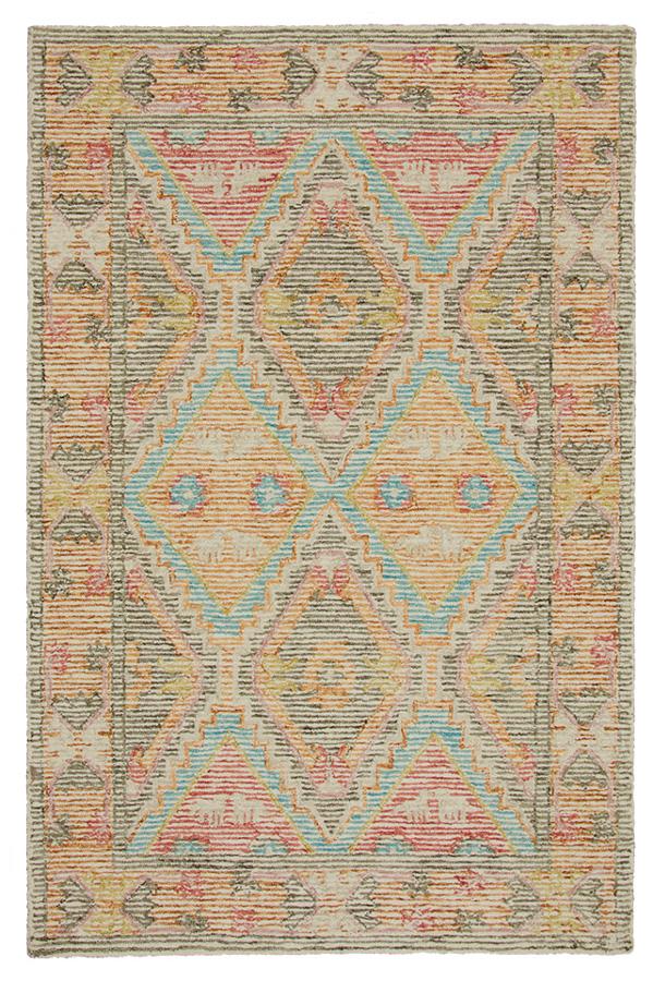 Nahari Hand Tufted Indian Wool Rug - 120 x 180cm
