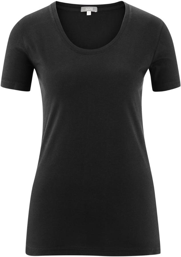 Frieda Organic Cotton T-Shirt - Black