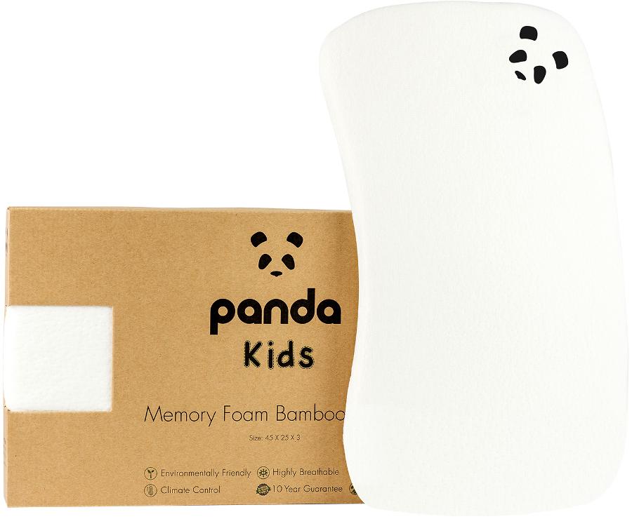 Panda Toddler Memory Foam Bamboo Pillow