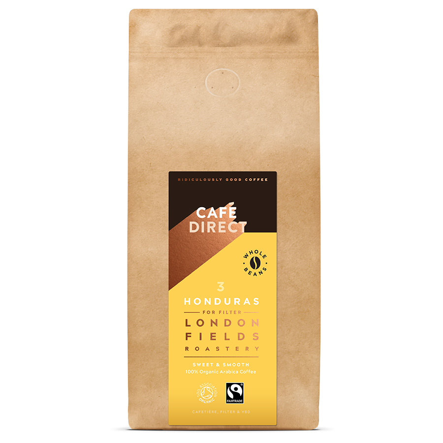 Cafédirect London Fields Honduras Organic Coffee Beans 1kg