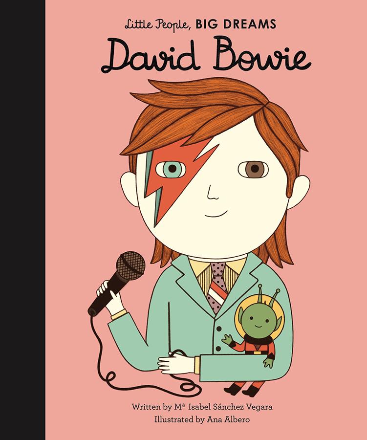 Little People Big Dreams Hardback Book: David Bowie