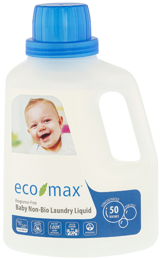Eco-Max Non-Bio Baby Laundry Detergent - Fragrance Free - 1.5L - 50 Washes