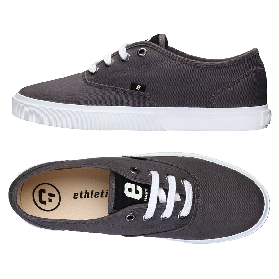 Ethletic Fairtrade Kole Sneaker - Pewter Grey