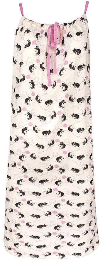 People Tree Cat Print Camisole Nightdress