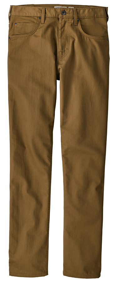 Patagonia Men's Performance Regular Fit Twill Jeans - Coriander Brown