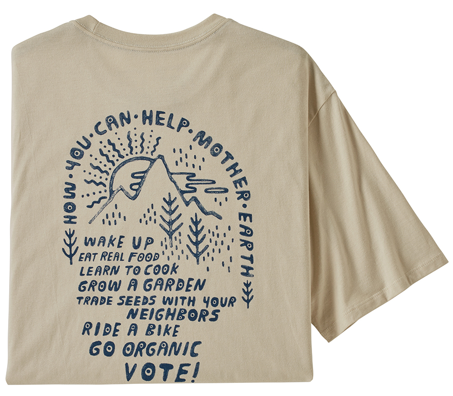 Patagonia How To Help Organic T-Shirt