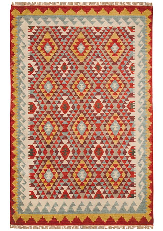 Khiva Handloom Kilim Rug - 180 x 270cm