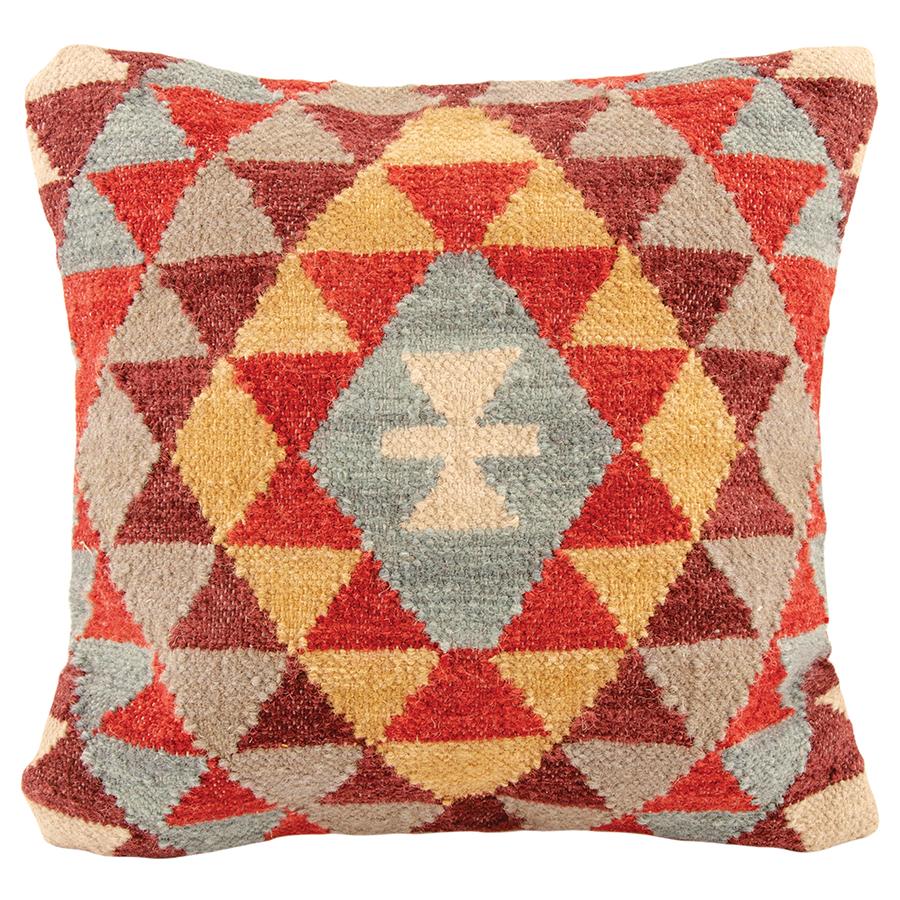 Khiva Handloom Kilim Cushion Cover - 45 x 45cm