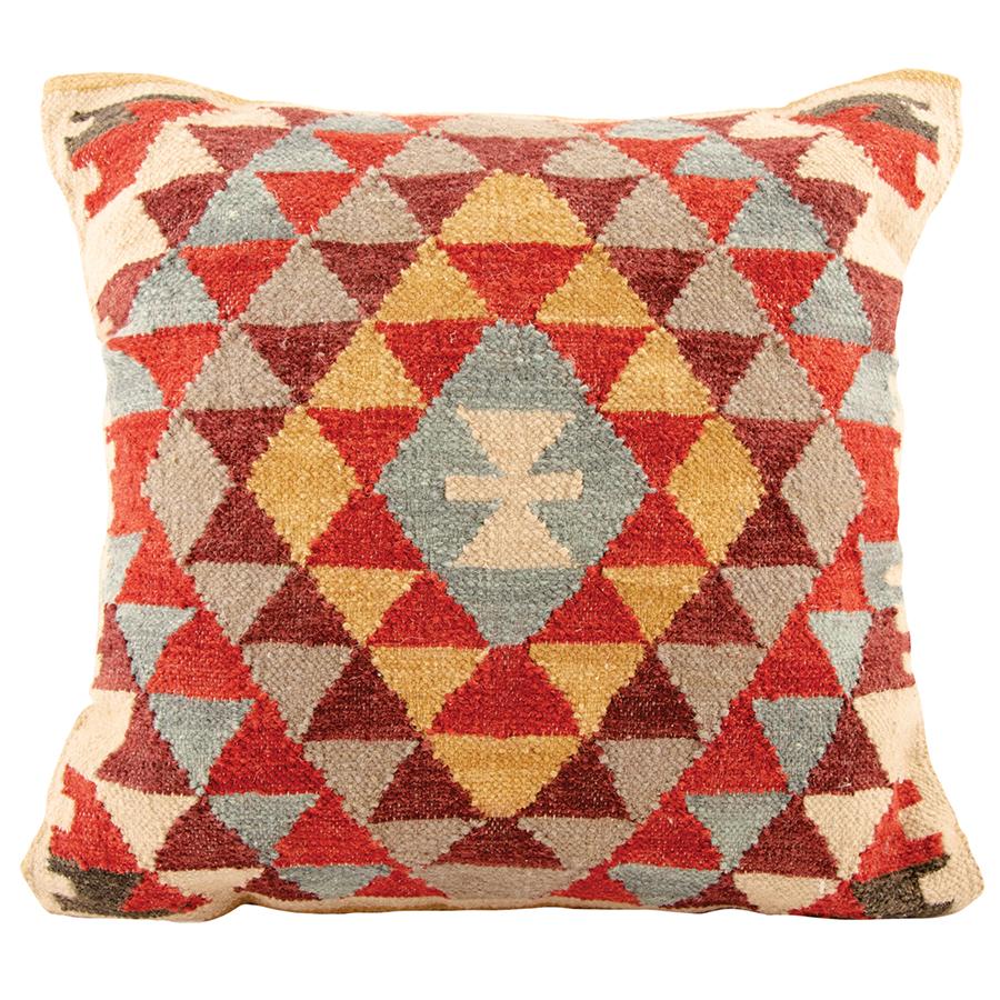 Khiva Handloom Kilim Large Cushion Cover - 60 x 60cm